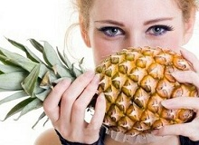 Калорійність ананаса - 52 ккал на 100 г