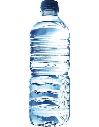 Меню першого дня швидкої дієти 10 кг включає тільки одну пляшку води, розділену на 6 прийомів