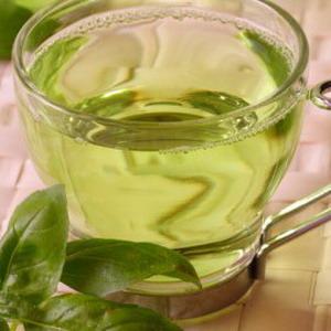Раціон дієти на зеленому чаї