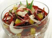 Овочевий салат для вітамінного дня ефективної дієти