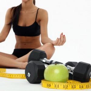 Фітнес дієта має на увазі регулярні заняття в тренажерному залі