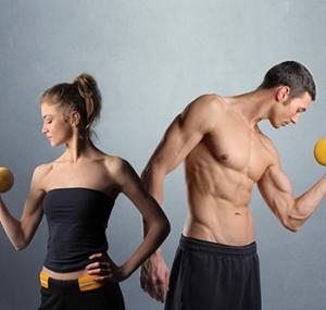 Комплекс фітнес вправ для чоловіків і жінок
