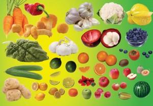 Принцип фруктово-овочевої дієти