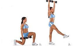Комплекс вправ з гантелями для схуднення