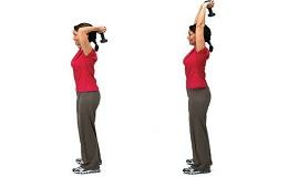 Ефективні для схуднення вправи з гантелями