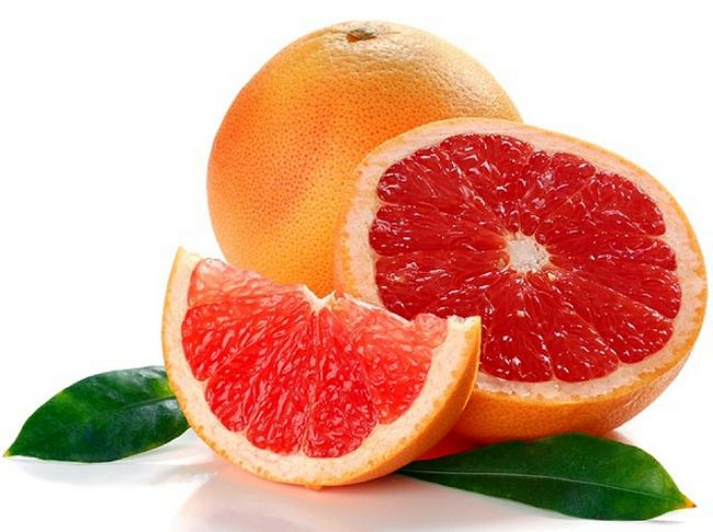 Для схуднення на грейпфрутової дієті важливо речовина нарингін, що міститься в даному фрукті
