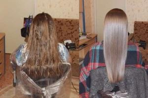 Екранування волосся що це і як робити.
