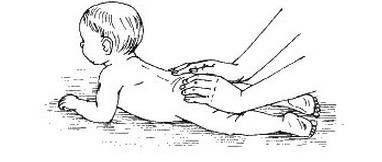 розтирання подушечками пальців