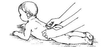 розтирання тильною стороною пальців