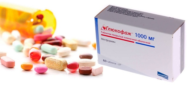 Препарат «Глюкофаж» для схуднення