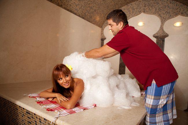 турецький мильний масаж