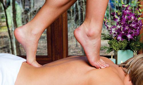 Турецький масаж ногами