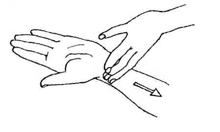 Підбадьорливий масаж рук