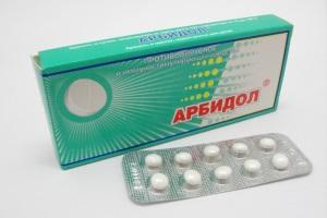 Арбідол - хороший засіб для придушення вірусів групи А і В.