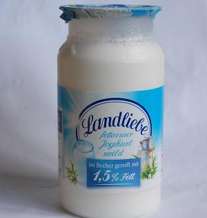 Йогурт для схуднення в упаковці