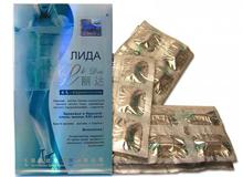 Препарат для схуднення Ліда - інструкція із застосування