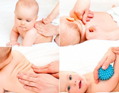 Дитячий масаж до року