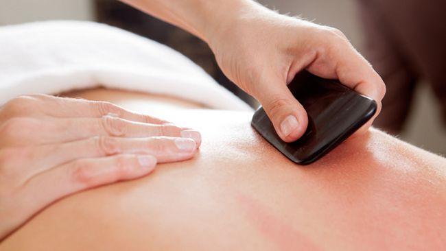 Китайський масаж гуаша