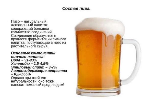 Натуральне пиво також приносить чималу шкоду вашому організму.