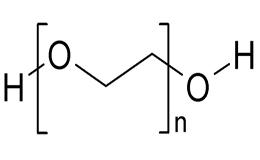 Хімічна формула поліетиленгліколю