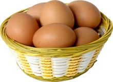 Яка калорійність яєчних білків?