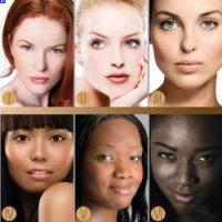 Вибирайте макіяж в залежності від кольору шкіри.