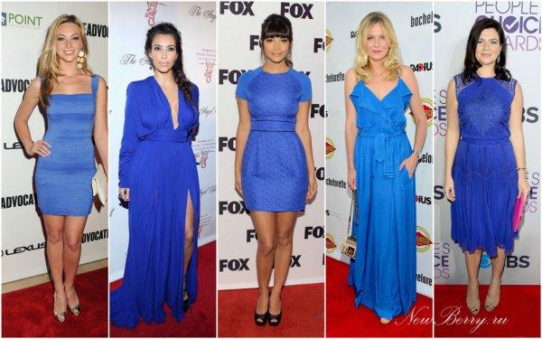 Макіяж потрібно вибирати залежно від відтінку сукні.
