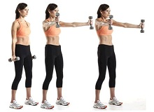 Комплекс вправ для рук для схуднення