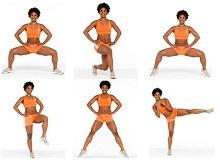 Комплекс вправ для внутрішньої сторони стегна