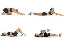 Ефективні вправи для плоского живота