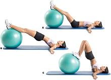 Ефективні для схуднення вправи на м'ячі
