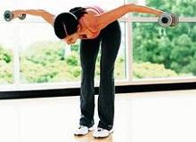 Вправи з гантелями для жінок: особливості виконання
