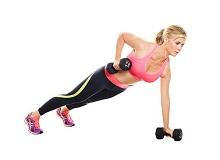 Ефективні вправи з гантелями для грудей і рук