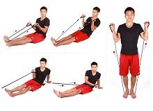 Ефективні вправи з еспандером для чоловіків
