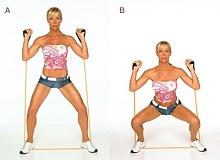 Ефективні вправи з еспандером для жінок