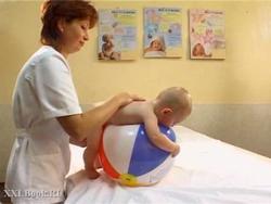 Відео-урок - як робити дитячий масаж
